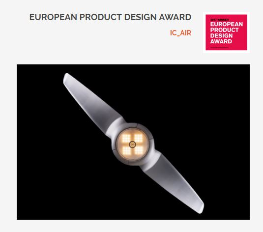 European product Design Award - 2017