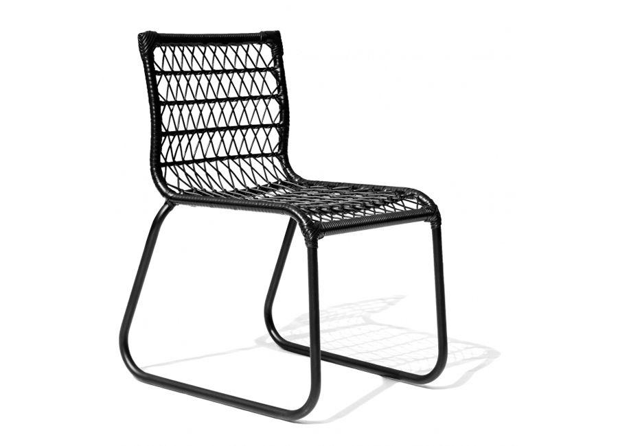 Cadeira Huelva, em fibra e alumínio