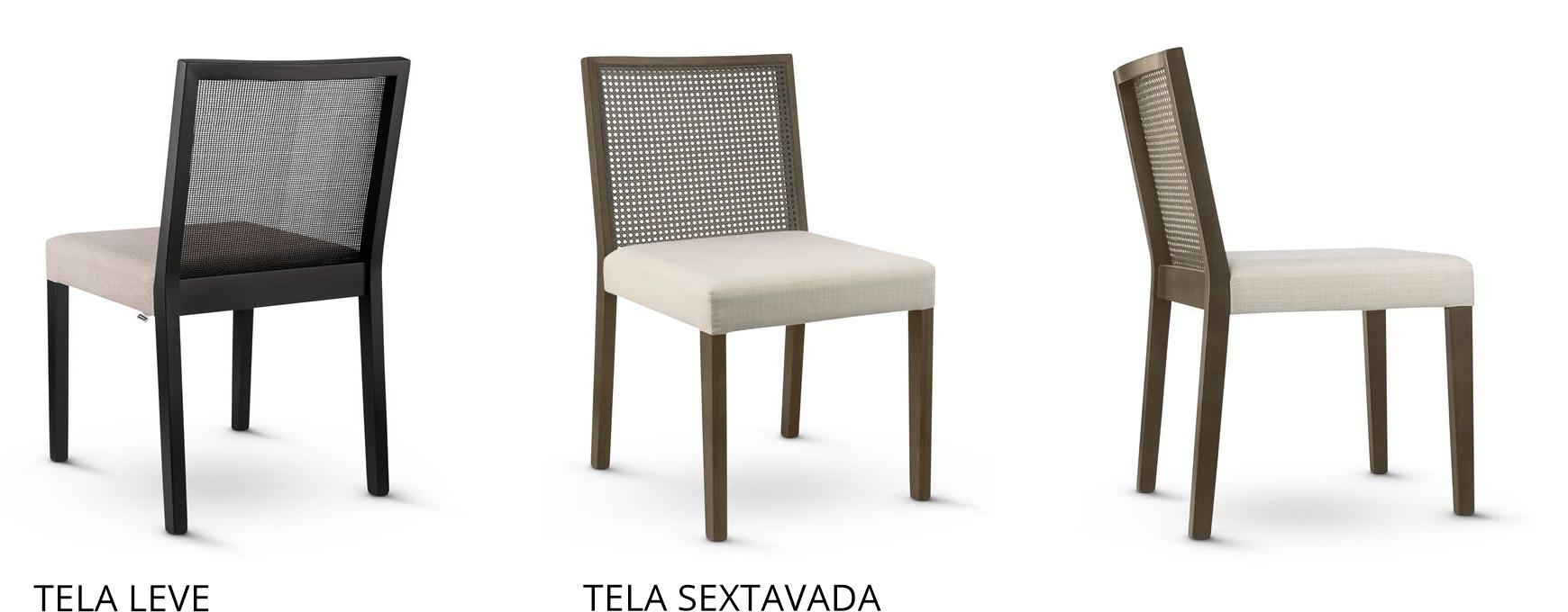 Cadeira de Jantar Greys com tela