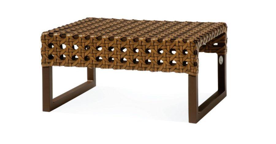 Mesa de Centro Marrocos Diva, em fibra e alumínio
