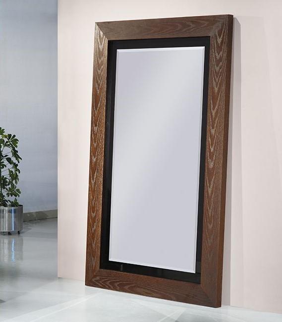 Espelho Aron - Acabamento em diversas madeiras e lacas